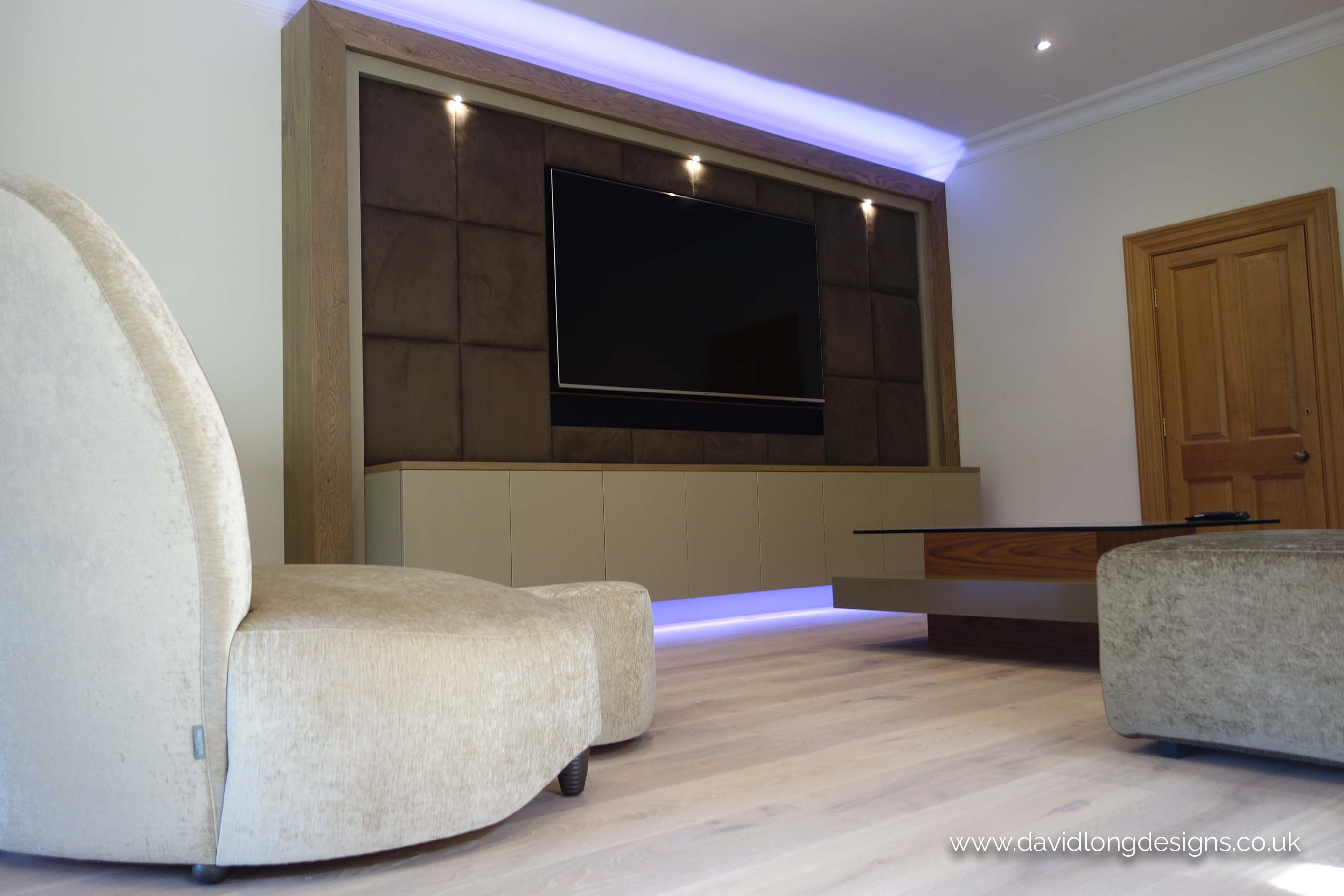 David Long Designs Luxury Home Cinema