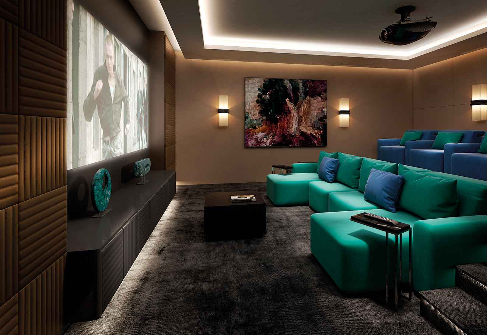So If You Are Looking For A Unique Luxury Tv Cabinet A Luxury Tv Unit All The Way Through To The Full Media Room Furniture Cinema Room Installation With